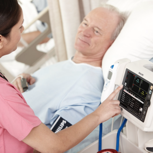 Patiënt monitoring en bewaking